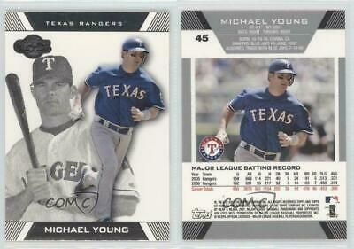 2007 Topps Co-Signers #45 Michael Young Texas Rangers