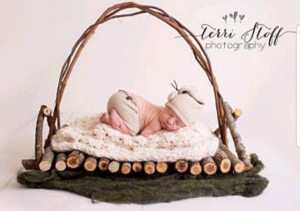Hire newborn props