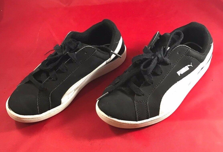 Vintage Kids noir et blanc PUMA Chaussures de tennis taille 2.5 C   eBay