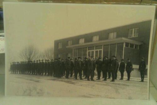 c1960s State Police In Uniform, Barracks & Troop Inspection Greensburg Pa. Print