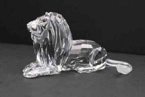 Swarovski 1995 Annual Edition Crystal Lion Inspiration Africa Figurine