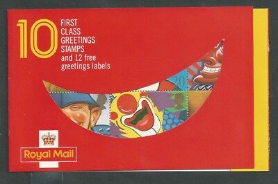 SMILES GREETINGS BOOKLET SCOTT 1304-13 1313a SG KX1 PO Fresh Mint NH