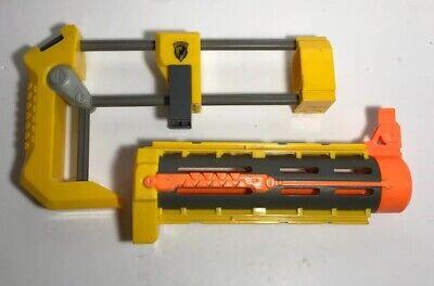 Nerf Yellow & Orange Front Barrel & Shoulder Stock Extension Lot Recon