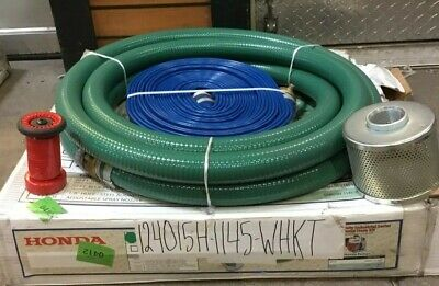 Honda 1.5 Water Pump Hose Kit For Wh15x Pump 124015h-1145-whkt