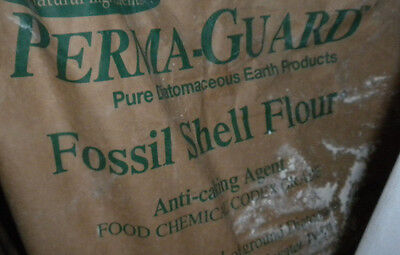 1 pound 100% pure Diatomaceous Earth home garden Feed Grade fossil shell flour