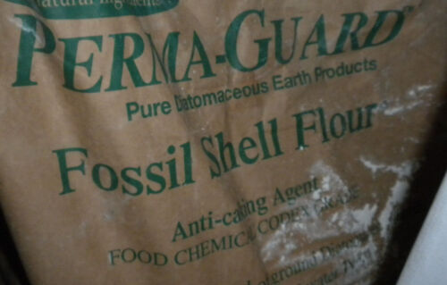 1/2 pound 100% pure Diatomaceous Earth home garden Feed Grade fossil shell flour