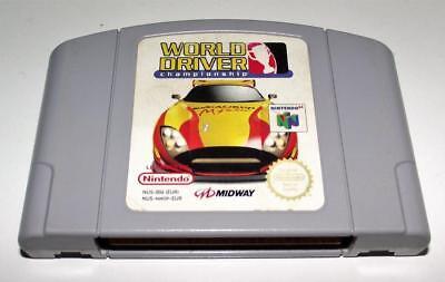 World Driver Championship Nintendo 64 N64 PAL