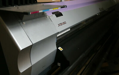 Mimaki Jv33-260 Solvent Printer 104 New Head Dye Sublimation Or Solvent Refub