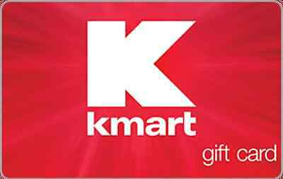 Kmart Gift Card - $25 $50 or $100 - Email delivery