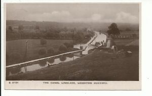 RP-The-Canal-Linslade-Leighton-Buzzard-pu-1921-postcard