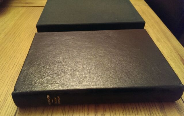 Turlough Brian Keenan SIGNED Leatherbound Slipcased Limited Edition Book Hardbk