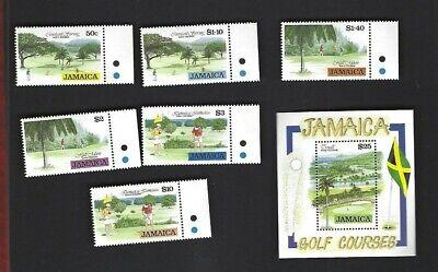 Jamaica sc#792-7 #798 Souvenir Sheet (1993) MNH