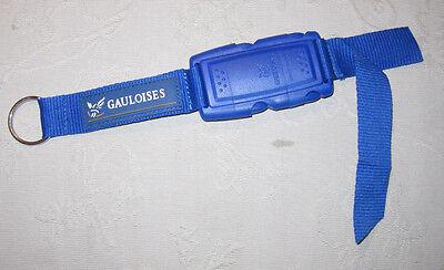 Gauloises Sturmfeuerzeug Schlüsselband Lanyard NEU (A48v)