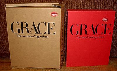 New SIGNED Grace Coddington The American Vogue Years HC DJ Slipcase Fashion 1st