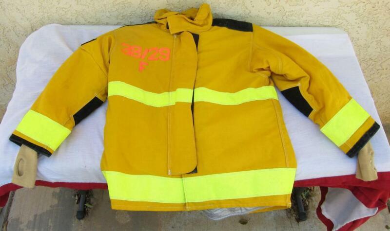 Lion Janesville Firefighter Fireman Turnout Gear Jacket Size 38.29.R F- [D] (N1)