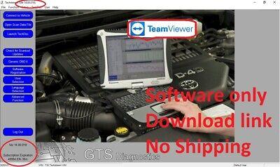Latest Techstream 03/2019 OBD2 Toyota Lexus TIS Software V14.00.019 for Mini VCI