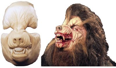 Werewolf Mask Professional Grade Foam Latex Prosthetic Halloween Accessory - Professional Foam Latex Halloween Masks