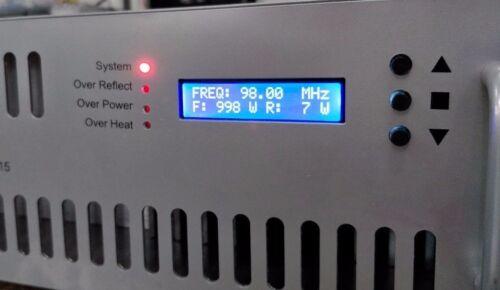Fm-1000w-st  Broadcast 1000 Watt Stereo Transmitter Broadcast 87.5-108mhz