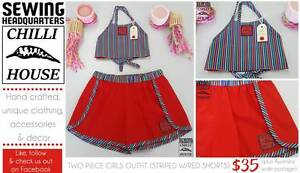 Girls Two Piece Outfit (Red) Gladstone Gladstone City Preview