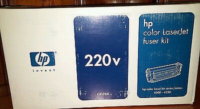 HP C4198a 220v Color Fuser Kit For Laserjet 4500 Or 4550