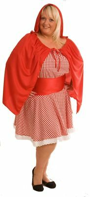PLUS SIZED Little Red Riding Hood IN EVERY PLUS SIZE