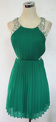 City Triangles Emerald Prom Party Dress 5    100 Nwt