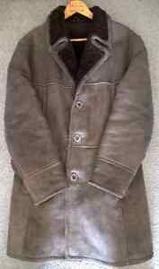 Beautiful Leather Winter Coat/Jacket