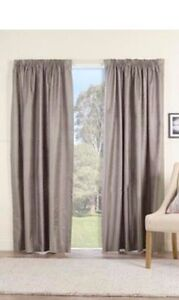 NEW GUMMERSON PENCIL PLEAT CURTAINS Campbelltown Campbelltown Area Preview