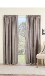 BRAND NEW GUMMERSON PENCIL PLEAT CURTAINS Campbelltown Campbelltown Area Preview