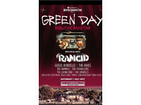 Green day tickets x2