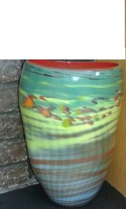 THE  BRAND NEW HAND MADE ART VASE DESIGN FROM CANADA FOR SALE