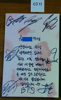 *Comment* BTS autographed 화양연화 Pt. 2 PROMO CD signed In the mood for love RUN