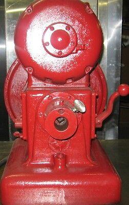 Vintage Antique Hobart Power Head Grinder For Cheese Meat 220v 452638 Works