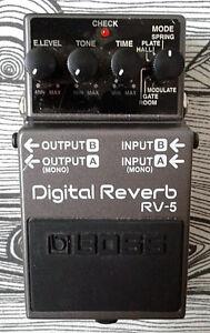 Boss RV-5 Reverb Pedal