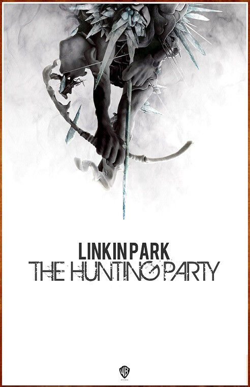 LINKIN PARK The Hunting Party Ltd Ed Discontinued RARE Poster CHESTER BENNINGTON