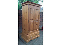 Pine double wardrobe * free Delivery