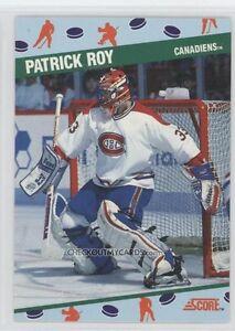 1991 SCORE ...... NATIONAL PROMO SET .... 10 hockey cards