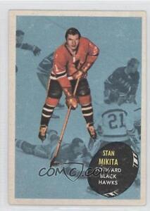 1962-63 Topps #200 Mickey Mantle and 61-62 Topps #36 Stan Mikita Kitchener / Waterloo Kitchener Area image 2