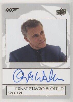 2019 James Bond Collection Bond Autograph CHRISTOPH WALTZ