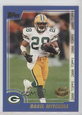 2000 Topps Collection #284 Basil Mitchell Green Bay Packers Rookie Football Card ()