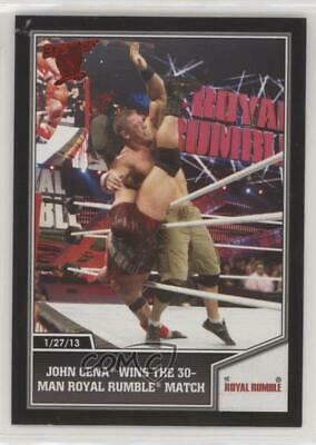 2013 Topps Best of WWE John Cena wins the 30-man Royal Rumble match