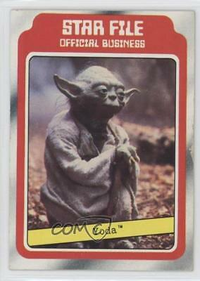 1980 Topps Star Wars: The Empire Strikes Back #9 Yoda Non-Sports Card s5j