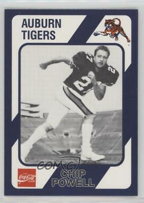 1989 Collegiate Collection Auburn Tigers #238 Chip Powell Rookie Football -