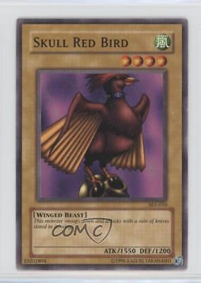 2004 Yu-Gi-Oh! Starter Deck Kaiba Evolution Unlimited SKE-010 Skull Red Bird 3g6