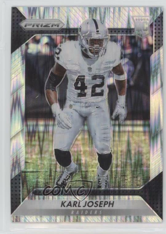 2016 Donruss Optic #124 Karl Joseph Oakland Raiders Rookie Football Card