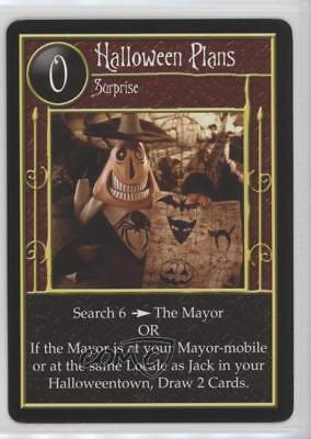 2005 The Nightmare Before Christmas Trading Card Game Halloween Plans Gaming 2a1 - The Halloween Game 2