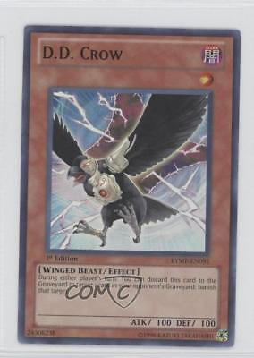 2012 Yu-Gi-Oh! Ra Yellow Mega-Pack Base 1st Edition #RYMP-EN093 DD Crow D.D. 0b2 for sale  Shipping to Canada