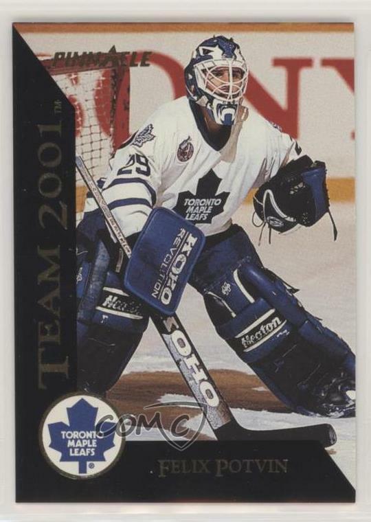 Open 1998 Starting Lineup Toronto Maple Leafs Felix Potvin