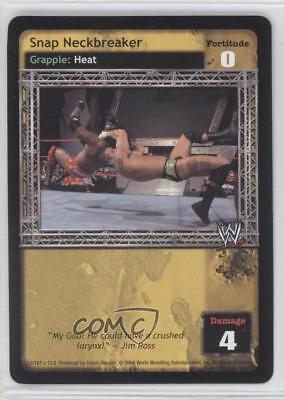 2004 WWE Raw Deal Trading Card Game Expansion 13: Vengeance Snap -