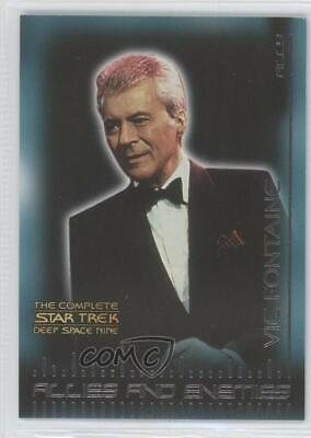 2003 The Complete Star Trek: Deep Space Nine Allies and Enemies Vic Fontaine (Vic Fontain)